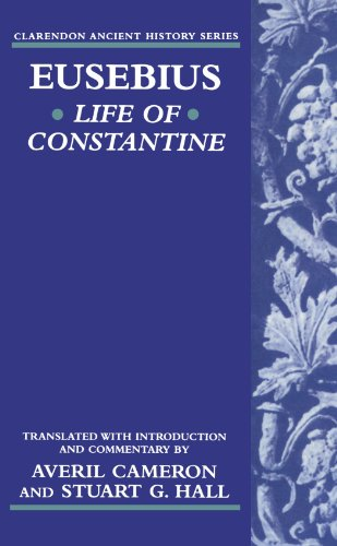 9780198149248: Life of Constantine (Clarendon Ancient History Series)