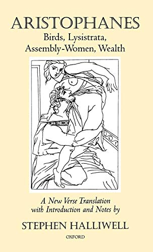 Birds, Lysistrata, Assembly-Women, Wealth (Hardback): Aristophanes