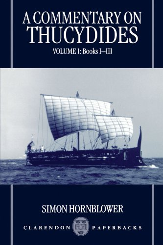 9780198150992: A Commentary on Thucydides: Volume I: Books I - III: Books 1-3 Vol 1