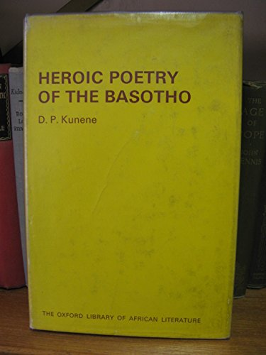 9780198151326: Heroic Poetry of the Basotho (Oxford Library of African Literature)
