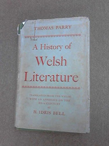 A History of Welsh Literature: Parry, Thomas