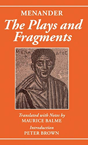 9780198152705: Menander, The Plays and Fragments
