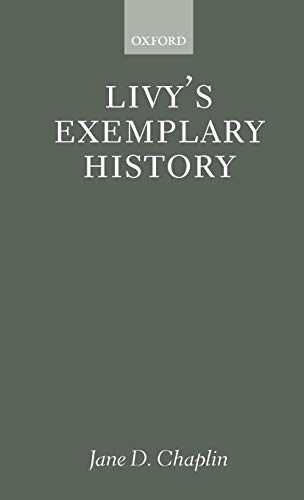9780198152743: Livy's Exemplary History