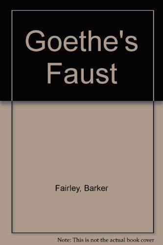 9780198153122: Goethe's