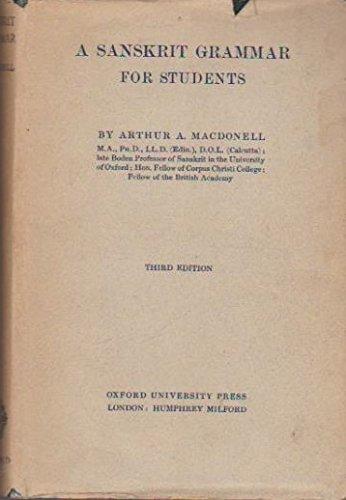9780198154150: A Sanskrit Grammar for Students
