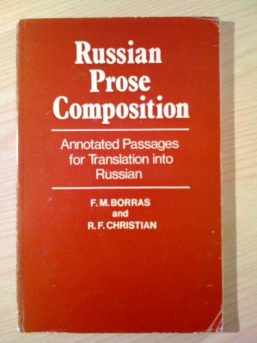 9780198156468: Russian Prose Composition