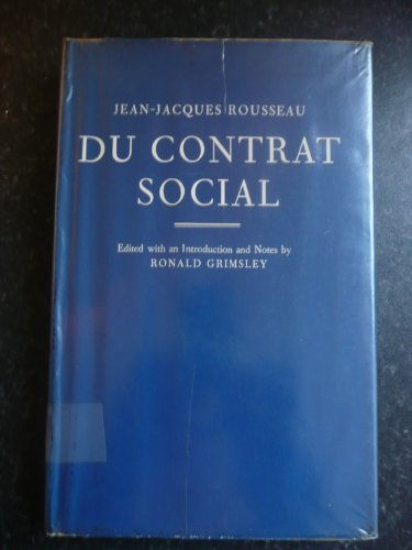 9780198157106: Social Contract (English and French Edition)