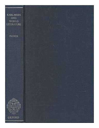 9780198157458: Karl Marx and World Literature
