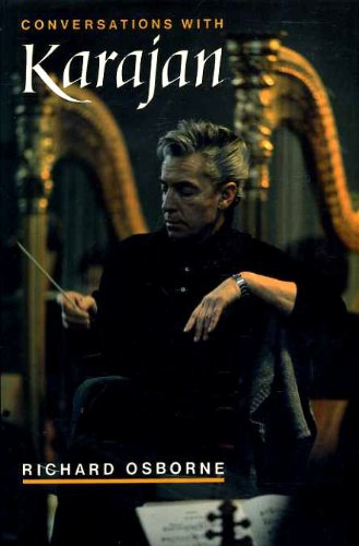9780198161646: Conversations with Karajan
