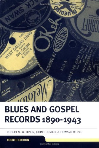 9780198162391: Blues and Gospel Records: 1890-1943