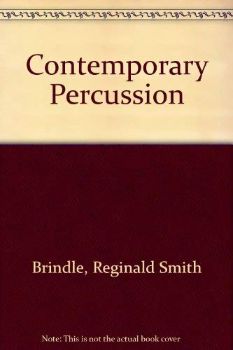 9780198162476: Contemporary Percussion