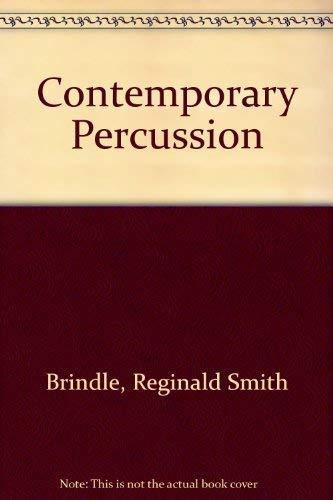 9780198162476: Contemporary Percussion