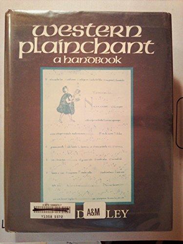 9780198162896: Western Plainchant: A Handbook