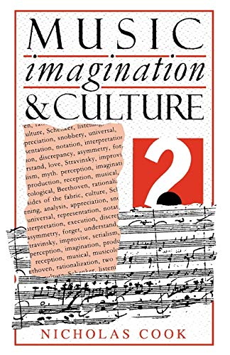 9780198163039: Music, Imagination, and Culture