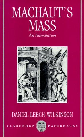 9780198163060: Machaut's Mass: An Introduction (Clarendon Paperbacks)