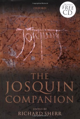 9780198163350: The Josquin Companion