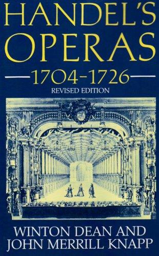 9780198164418: Handel's Operas 1704-1726 r/e (Clarendon Paperbacks)