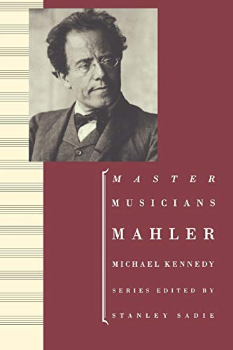 9780198164807: Mahler (Master Musicians Series)