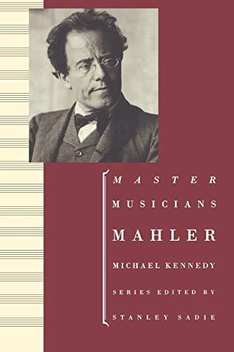 9780198164807: Mahler (Master Musicians)