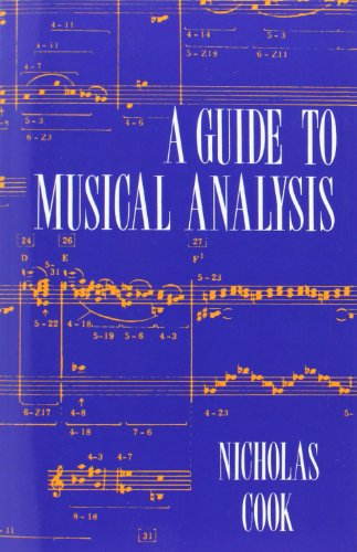 9780198165088: A Guide to Musical Analysis