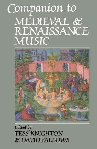 9780198165408: Companion to Medieval and Renaissance Music