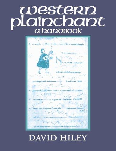 9780198165729: Western Plainchant: A Handbook