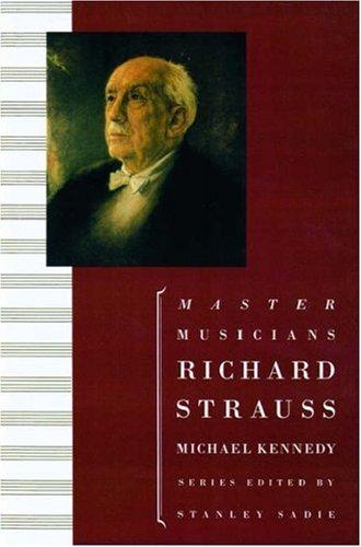 9780198165811: Richard Strauss (Master Musician)