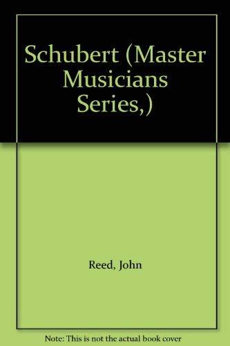 9780198166306: Schubert (Master Musician S.)