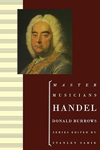 9780198166498: Handel (The Master Musicians Series)