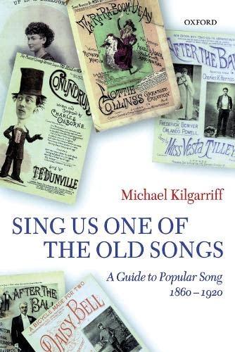 Sing Us One of the Old Songs;: Kilgarriff, Michael.
