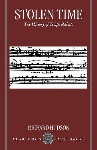 9780198166672: Stolen Time: The History of Tempo Rubato (Clarendon Paperbacks)