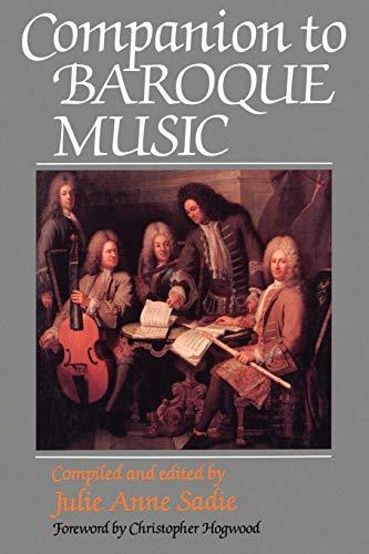 9780198167044: Companion to Baroque Music