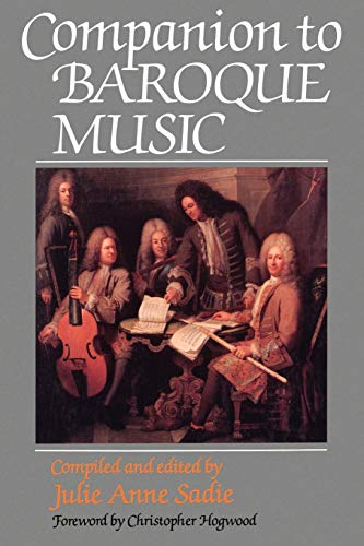 9780198167044: Companion to Baroque Music