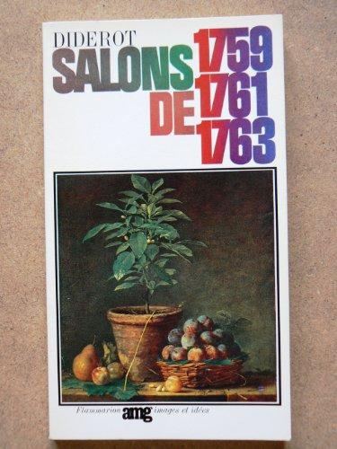 Diderot Salons: Vol. I 1759, 1761, 1763: Seznec, Jean