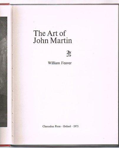9780198173342: The Art of John Martin