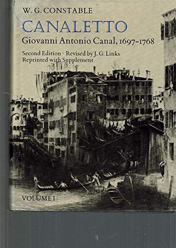9780198173892: Canaletto: Giovanni Antonio Canal, 1697-1768 2 Volumes