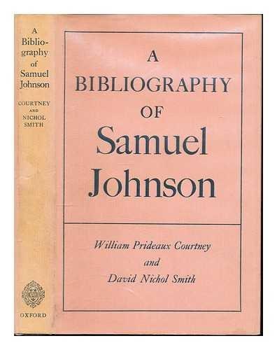 9780198181354: A bibliography of Samuel Johnson,