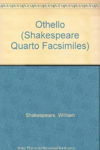 9780198181477: Othello (Shakespeare Quarto Facsimiles)
