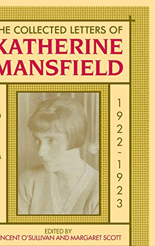 9780198183990: The Collected Letters of Katherine Mansfield, Volume 5: 1922-1923: 1922 v. 5 (Mansfield Collected Letters Series)