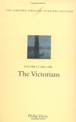 9780198184478: The Oxford English Literary History: Volume 8: 1830-1880: The Victorians