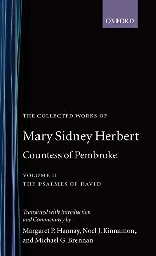 9780198184577: The Collected Works of Mary Sidney Herbert, Countess of Pembroke: Volume II: The Psalmes of David (|c OET |t Oxford English Texts)