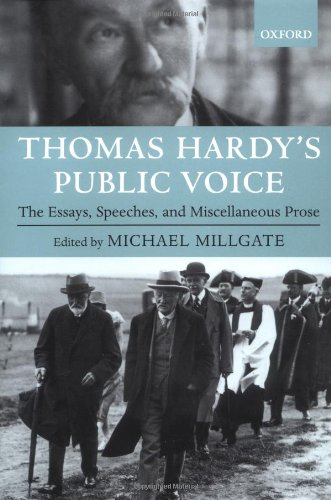 the voice by thomas hardy essay A short analysis of thomas hardy's 'the darkling thrush at once a voice arose among the bleak twigs overhead, in a full-hearted evensong of joy illimited.