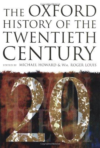 9780198204282: The Oxford History of the Twentieth Century