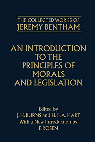 9780198205166: The Collected Works of Jeremy Bentham: An Introduction to the Principles of Morals and Legislation
