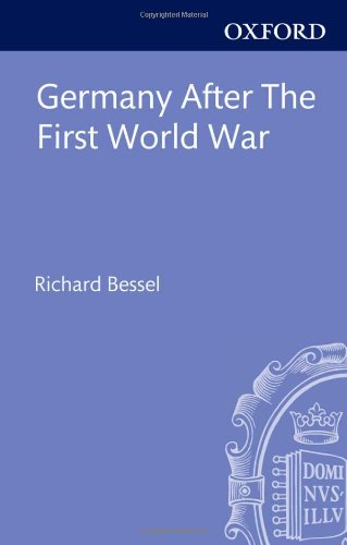 9780198205869: Germany after the First World War (Clarendon Paperbacks)