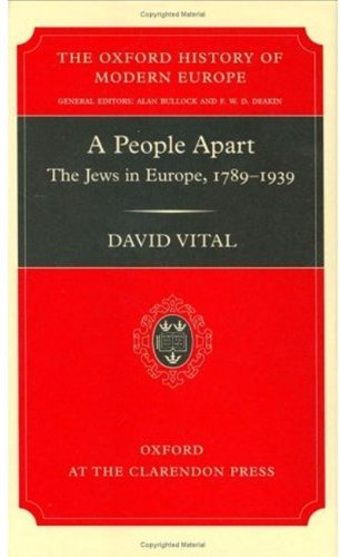 9780198208051: A People Apart: The Jews in Europe, 1789-1939