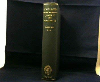 9780198212393: England in the Reigns of James II and William III.