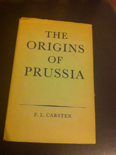 9780198214120: Origins of Prussia