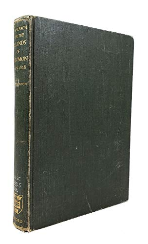 Search for the Islands of Solomon, 1567-1838: Jack-Hinton, Colin