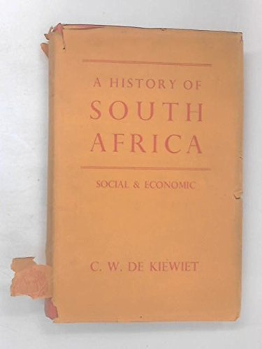 9780198216049: History of South Africa